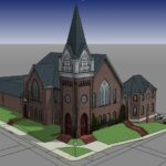 Church addition, Traditional Rendering